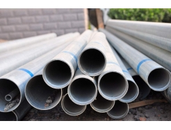 round galvanized pipe